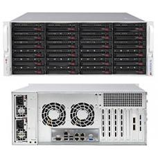 Máy chủ Supermicro SC846BE1C-R1K28B 2 x L5520 - Ram 16GB - Raid LSI 1068 - PS 900W